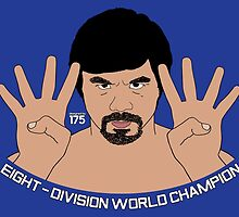 Manny Pacquiao - Eight Division World Champion by liam175