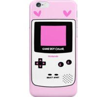 gameboy color iPhone Case/Skin