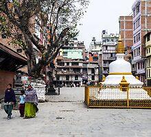 Daily life in Kathmandu by NielsEric
