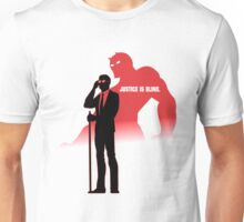DareDevil | Justice is Blind. Unisex T-Shirt