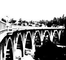 The Colorado Street Bridge. by George Paul Miller