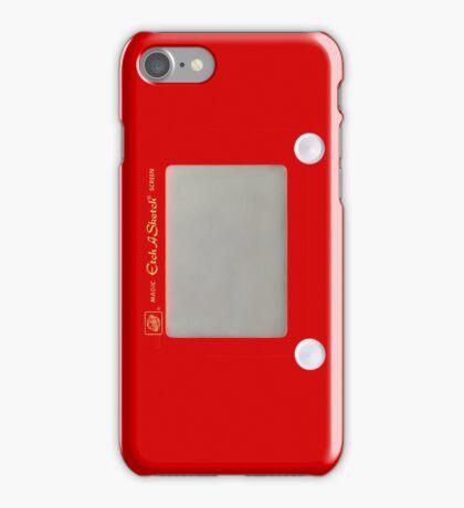 Etch A Sketch Design iPhone Case/Skin