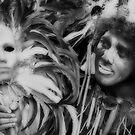 Man and Mask by zabcoloma
