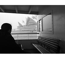 Sneaky Sydney Opera House  Photographic Print