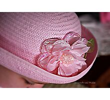 Easter Hat Photographic Print