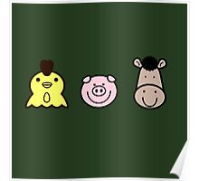 Farm Friends Poster