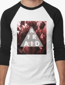 Afraid Men's Baseball ¾ T-Shirt
