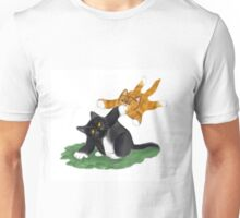 Kitten Launches Attack Unisex T-Shirt