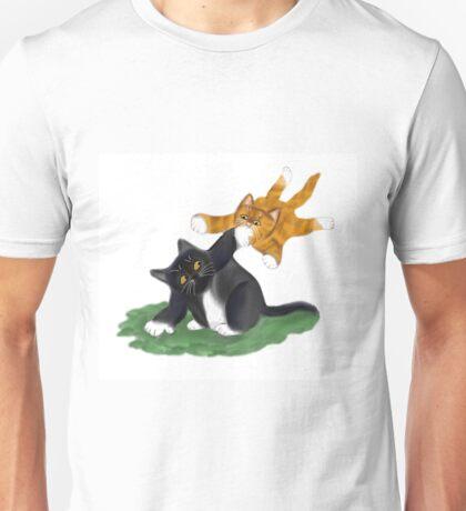 Kitten Launches Attack Unisex T-Shirt