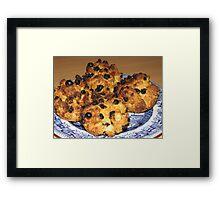Oven Fresh - Tasty Rock Cakes Framed Print