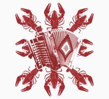 Cajun Music And Crawfish Baby Tee