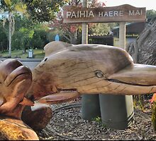 Haere Mai  - Welcome in Maori. by Larry Lingard-Davis