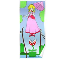 Haunted Mansion Peach  Poster