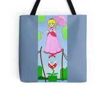 Haunted Mansion Peach  Tote Bag