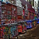 Rutledge Lane, Melbourne by Beth A