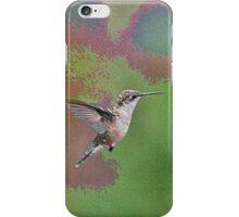 Enamel Hummingbird iPhone Case/Skin