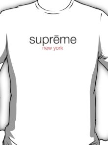 Supreme New York Shirt T-Shirt