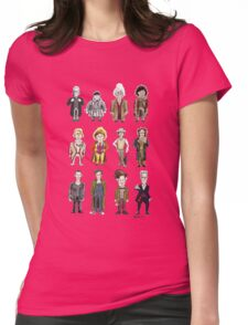 The 12 Doctors Womens Fitted T-Shirt