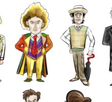 The 12 Doctors Sticker