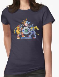 Digivolve Into Champions Womens Fitted T-Shirt