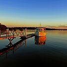 Carlo Point, Rainbow Beach at sunset. Queensland, Australia. (3) by Ralph de Zilva