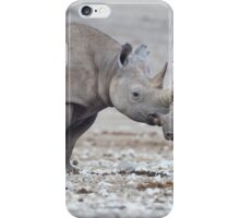 Furry Black Rhinoceros