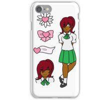 Kagami Akiyama Sticker Sheet iPhone Case/Skin