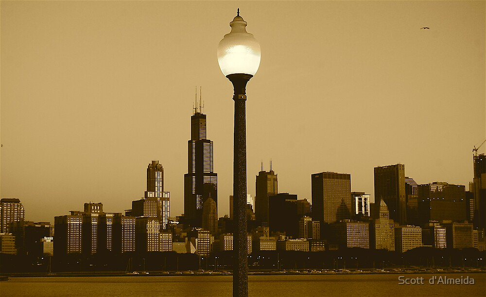 CHICAGO SUNRISE by Scott  d'Almeida