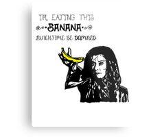 Dark Willow - Eat That Banana! Metal Print