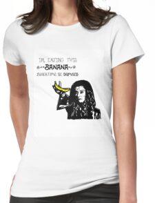 Dark Willow - Eat That Banana! Womens Fitted T-Shirt