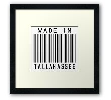 Made in Tallahassee Framed Print