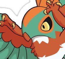 Hawlucha - Common Morph Sticker