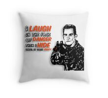 Xander the Brave Throw Pillow