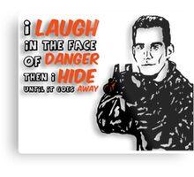 Xander the Brave Metal Print