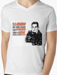 Xander the Brave Mens V-Neck T-Shirt