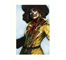 Pirate Woman Art Print