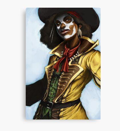 Pirate Woman Canvas Print