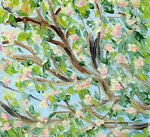 False Spring Panel 2 by Amy-Elyse Neer