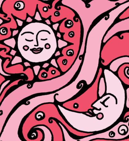Pink Galaxy Sticker
