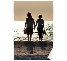 Silhoutte Couple Poster