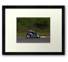 Yamaha Superbike Framed Print