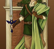 Protector of Hyrule by chai-tyto