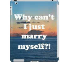 Good question  iPad Case/Skin