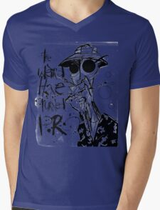 The Weird Have Turned Pro Mens V-Neck T-Shirt