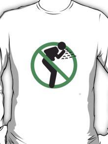 Swine H1N1 in green T-Shirt
