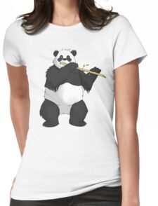 Bamboo Player Womens Fitted T-Shirt