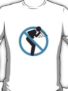 Swine H1N1 in blue T-Shirt
