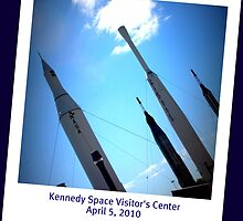 Kennedy Space Visitor's Center by June Holbrook