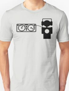 DJ Plus Decks Unisex T-Shirt