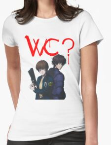 Psycho-Pass 2: What Color? Womens Fitted T-Shirt